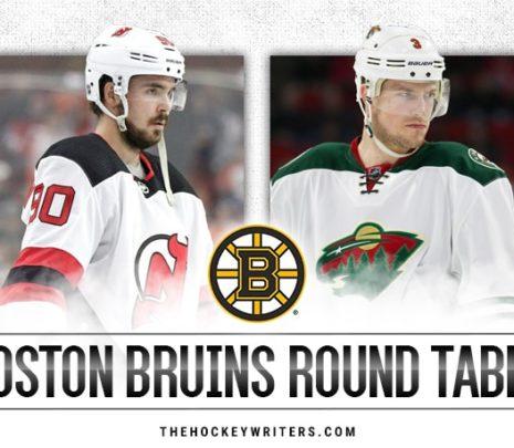 Bruins Round Table: Trade Deadline Analysis