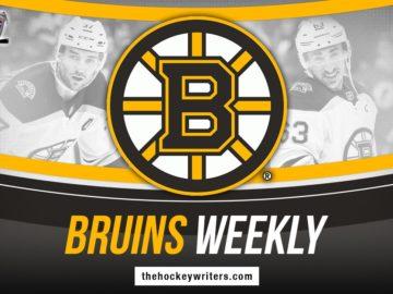 Bruins Weekly: Marchand, Swayman, Road Trip & More
