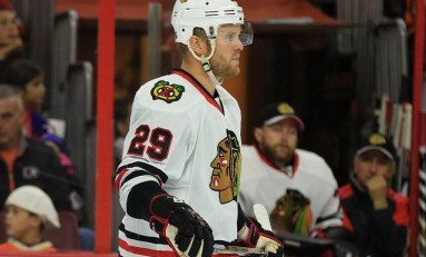 Blackhawks Maintain Style While Playing Size over Skill