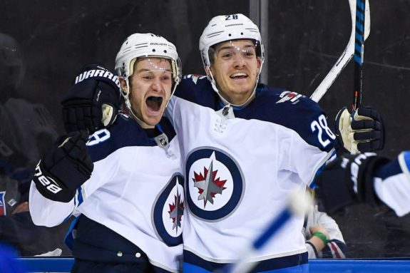 Winnipeg Jets Bryan Little Jack Roslovic