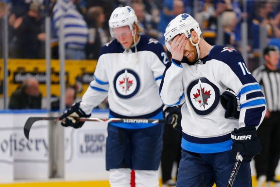 purchase cheap f6592 0fb05 Why the Winnipeg Jets Fell Flat in Stanley Cup Playoffs ...