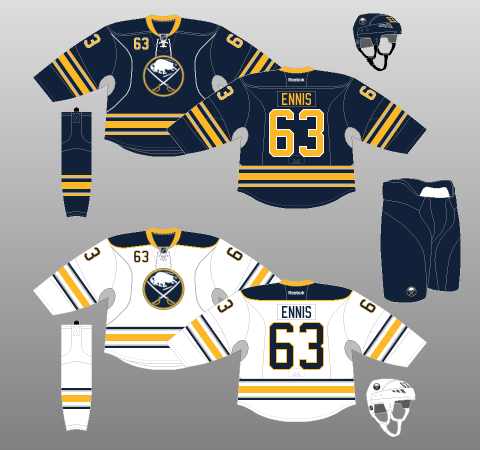 Buffalo Sabres Jersey History 31314e6e9