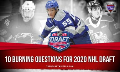 10 Burning Questions for 2020 NHL Draft
