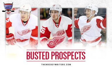 7 Red Wings' Prospects That Busted