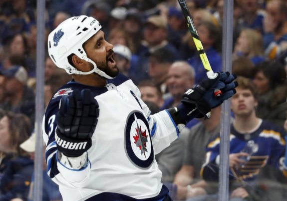 Winnipeg Jets' Dustin Byfuglien