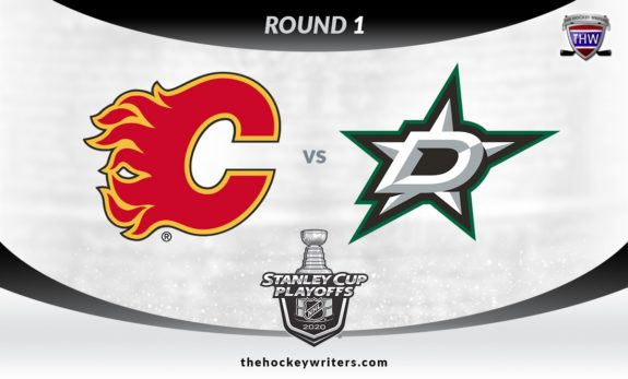 2020 Stanley Cup Playoffs Round 1 Calgary Flames vs Dallas Stars
