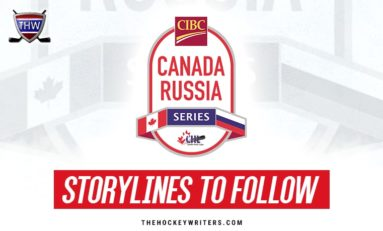 2019 CIBC Canada Russia Series Storylines to Follow