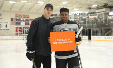 Luc Robitaille Helping to Keep No Kid Hungry