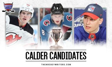 NHL Trophy Talk: 31 Calder Candidates