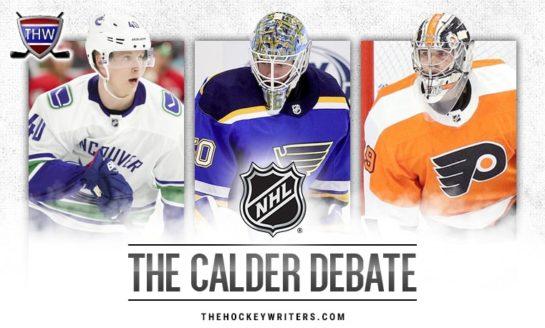 Pettersson vs. Binnington: Who Will Win the Calder?
