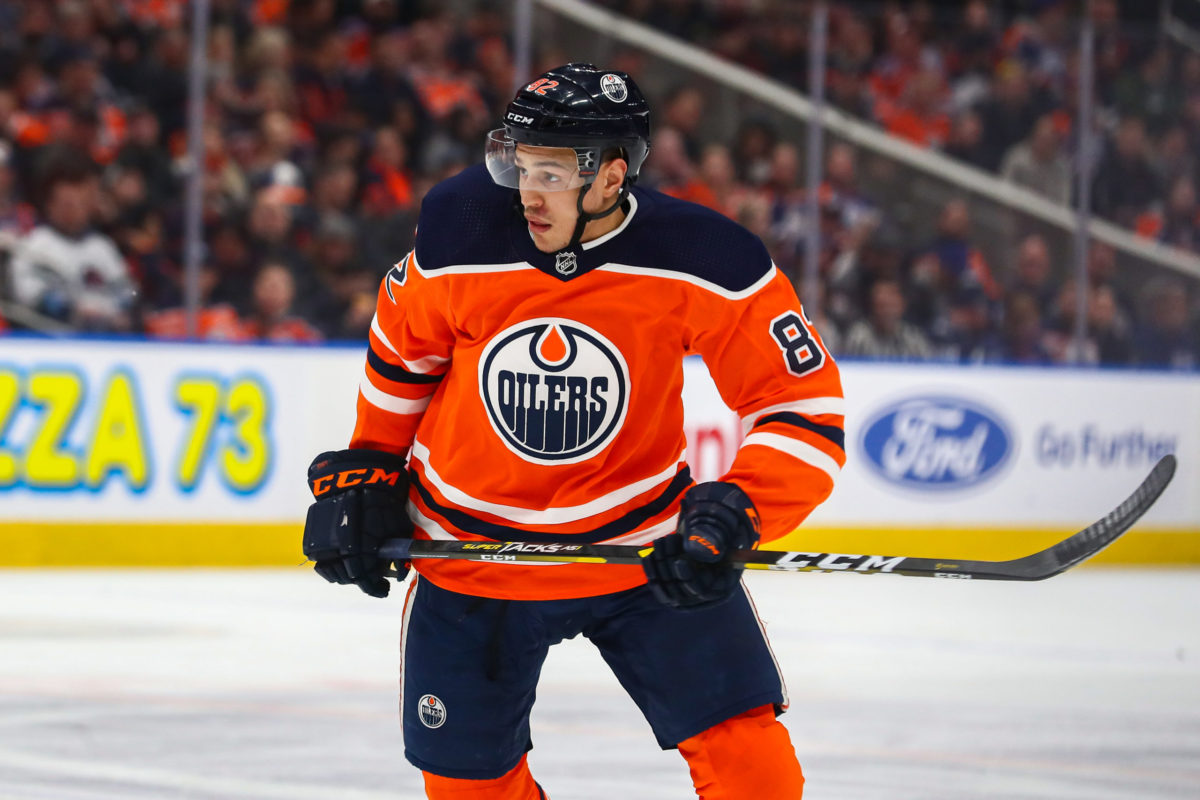Caleb Jones Edmonton Oilers
