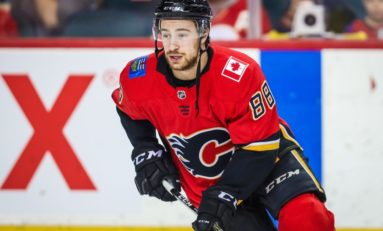 Andrew Mangiapane With Goal and Two Assists, Flames Beat Oilers 5-1