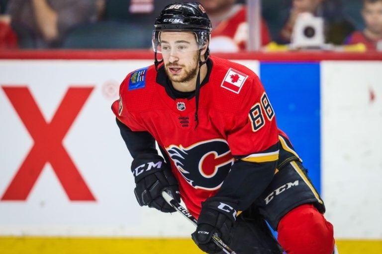 Calgary Flames Andrew Mangiapane