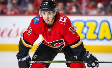 Gaudreau Scores Winner in Shootout, Flames Beat Stars 3-2