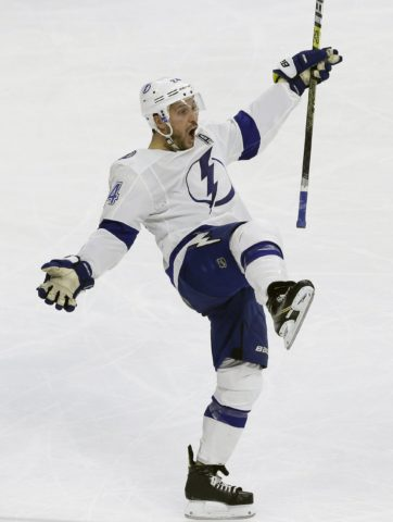 Tampa Bay Lightning's Ryan Callahan