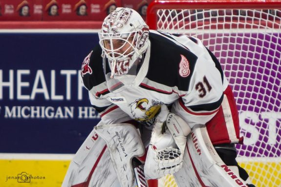 Calvin Pickard Grand Rapids Griffins