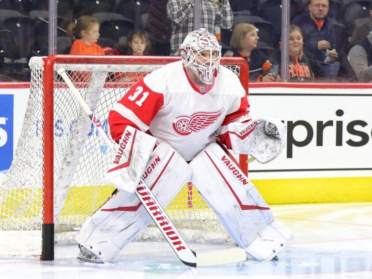 Calvin Pickard Detroit Red Wings