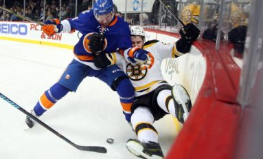 Recap: Bruins Give Away Two Points, Shutout By Islanders