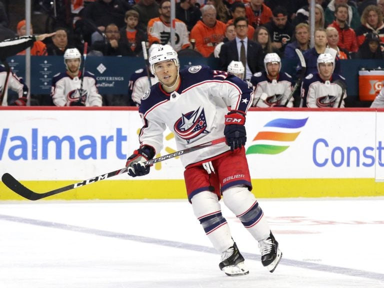Cam Atkinson Columbus Blue Jackets