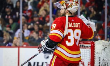 Flames' Talbot Deserves Extended Look as Starter Over Rittich