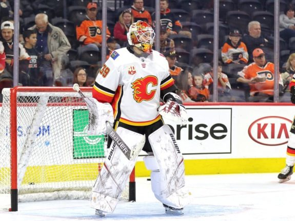 Cam Talbot Calgary Flames Goalie David Rittich Starter Playoffs
