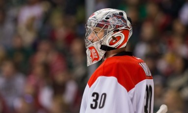 Hurricanes Winds Blow Ward to Blackhawks