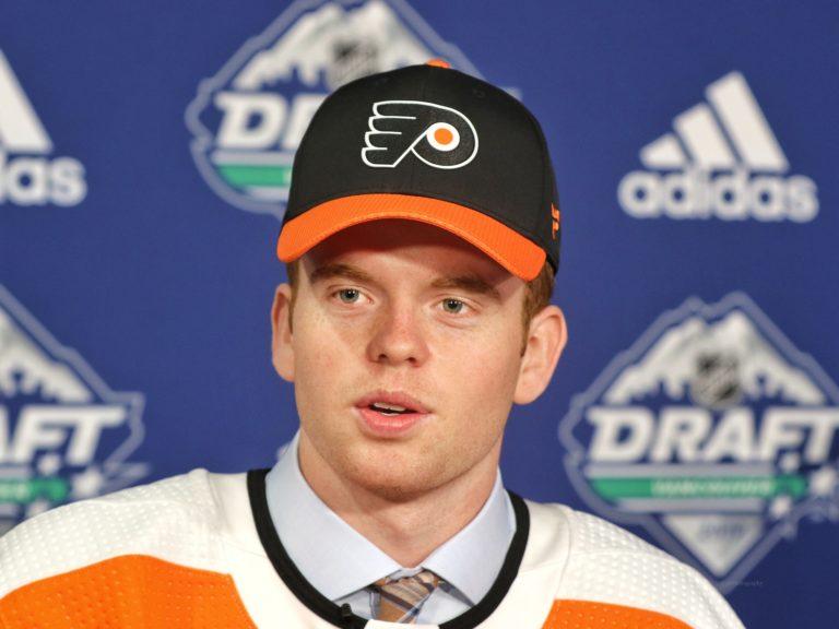 Cam York Flyers Draft