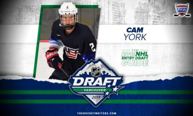 Cam York – 2019 NHL Draft Prospect Profile