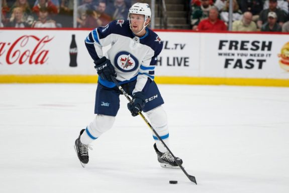 Winnipeg Jets defensemen Cameron Schilling