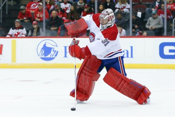 Montreal Canadiens goaltender Carey Price
