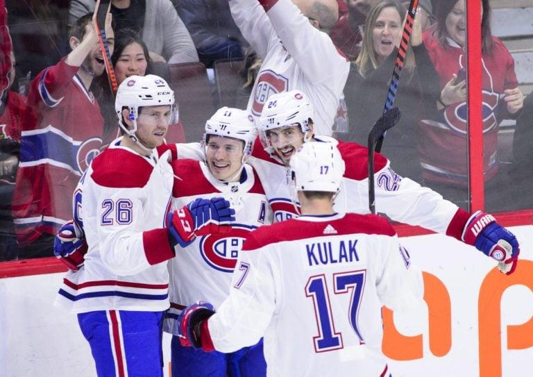 Montreal Canadiens Brendan Gallagher