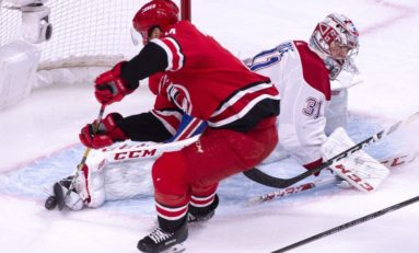 Canadiens Balanced Attack Overwhelms Hurricanes
