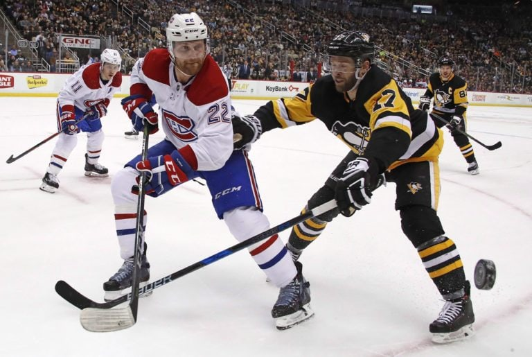 Penguins Bryan Rust Canadiens Karl Alzner
