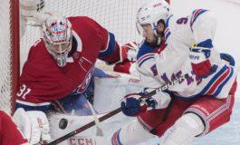 Captain Weber Scores Two as Canadiens Top Rangers