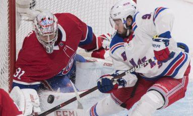 67ecafe60 New York Rangers. Captain Weber Scores Two as Canadiens Top Rangers