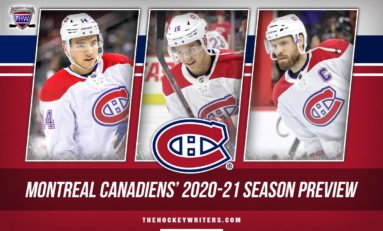 Montreal Canadiens' 2020-21 Season Preview