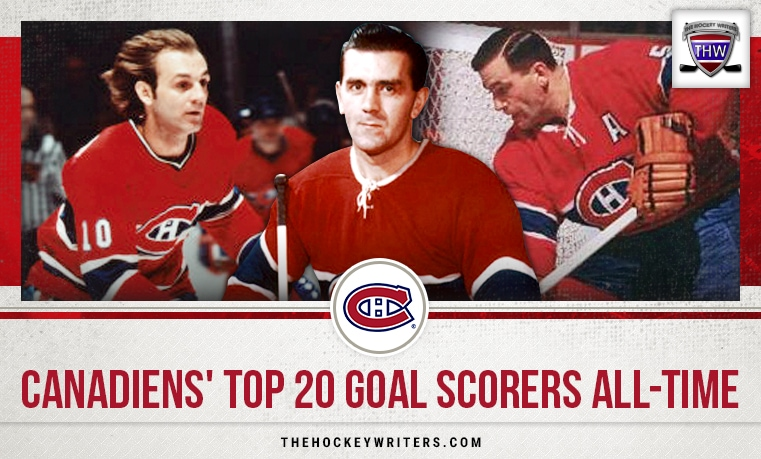 Canadiens' Top 20 Goal Scorers All-Time