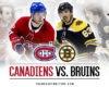 Canadiens & Bruins Reignite Rivalry