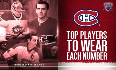 Greatest Montreal Canadien to Wear Each Jersey Number