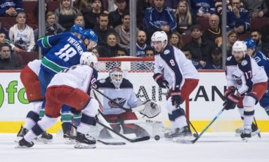 Blue Jackets Blank Canucks - Keep Pace for Playoffs