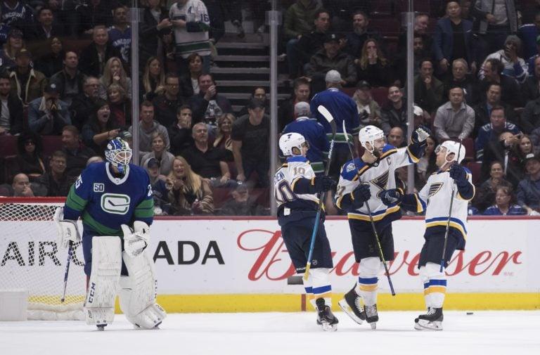 Vancouver Canucks St. Louis Blues