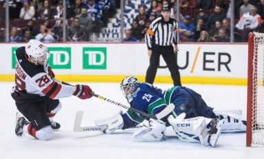 Devils Fight Back to Beat Canucks in Shootout