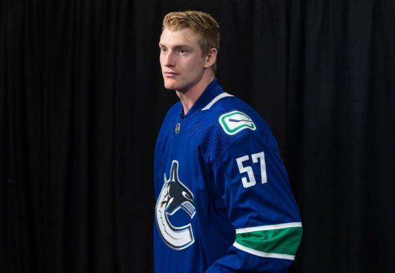 Vancouver Canucks Tyler Myers