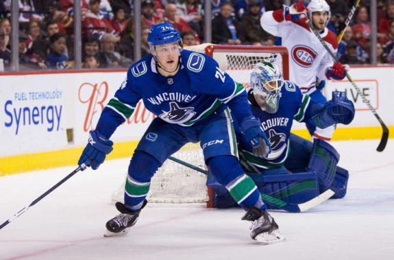 Vancouver Canucks Reid Boucher