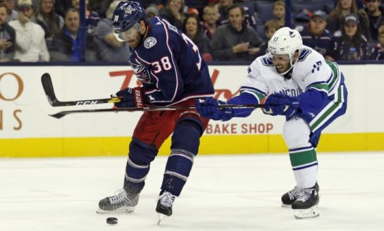 Canucks Rally Late to Beat Blue Jackets