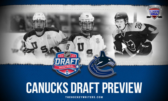 2020 Vancouver Canucks Draft Preview Eamon Powell, Brock Faber and Luke Prokop