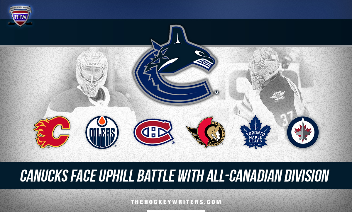 Vancouver Canucks Face Uphill Battle With All-Canadian Division Connor Hellebuyck, Carey Price