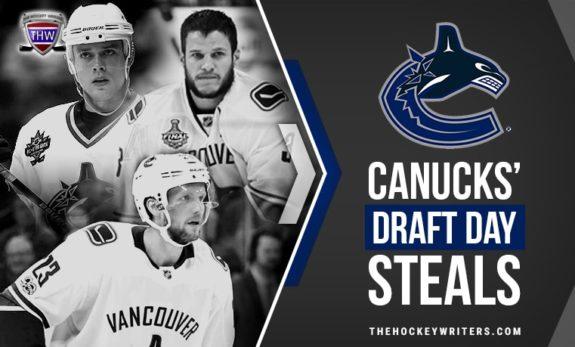 Vancouver Canucks' Draft Day Steals Pavel Bure Alex Edler Kevin Bieksa