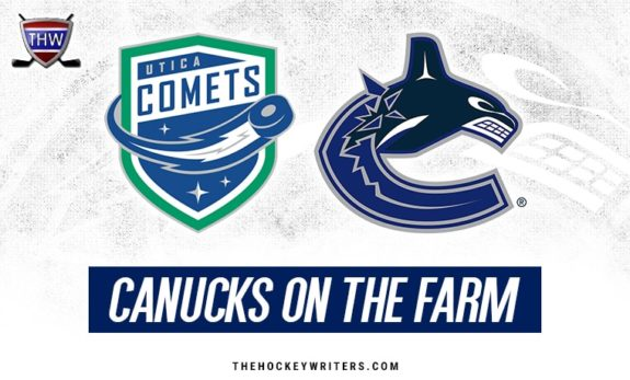 Vancouver Canucks on the Farm Utica Comets