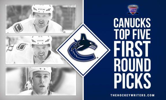 Vancouver Canucks: Top Five First Round Picks Daniel Henrik Sedin Trevor Linden